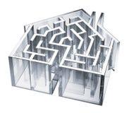House maze Royaltyfria Bilder