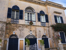 House in Mdina the Silent City of Malta Royalty Free Stock Images