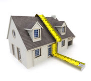 House measuring Royalty Free Stock Images