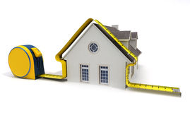House measuring Stock Photography