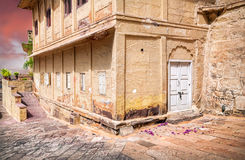 House in Mehrangarh fort Royalty Free Stock Photos