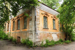 The house of merchant Gardenin in Voronezh city, Russia. Potap Gardenin - the Voronezh merchant of the first guild, the owner of the cloth manufactory. In 1735 Stock Image