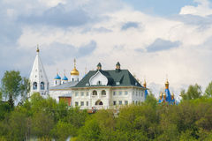 House of merchant KP, general view. City Cheboksary, Chuvash Republic. Russia. 08/05/2016 Royalty Free Stock Images