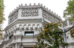 House of the merchant Morozov in Moscow Stock Image
