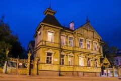 House of the merchant Sapozhnikov (built in 1893), Kostroma, Rus Stock Image