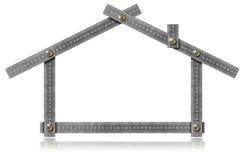 House - Metal Meter Tool Stock Photography
