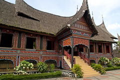 House of Minangkabau Stock Photography
