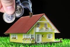 House miniatur with garden Stock Photography