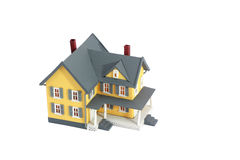 House miniature isolated Royalty Free Stock Photo