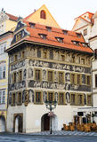 House At a minute. Prague. Czech Republic. Stock Photography