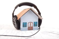 Music house Stock Images