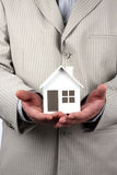 House model in hand Royalty Free Stock Photography
