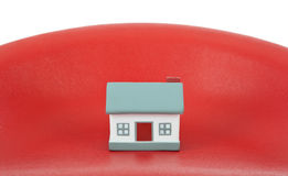 House model toy plastic Stock Photo