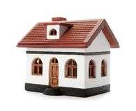House model on white background royalty free stock photo