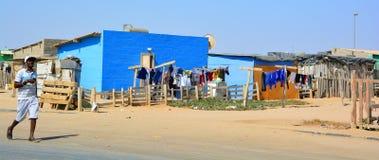 House in the Mondesa slum Stock Image