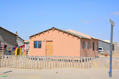 House in the Mondesa slum Royalty Free Stock Photo
