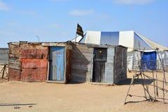 House in the Mondesa slum Royalty Free Stock Photography