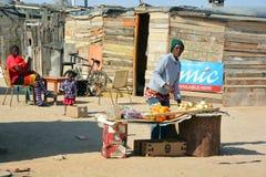 House in the Mondesa slum Stock Photo