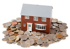 House and Money Royalty Free Stock Image