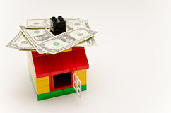 House and money Stock Photography