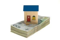 House on money Royalty Free Stock Image