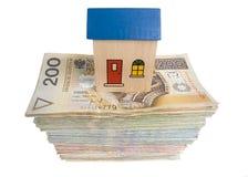 House on money Stock Photography