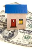 House on money Royalty Free Stock Images