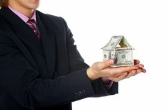 The house of money Royalty Free Stock Photos