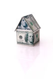The house of money Royalty Free Stock Photo