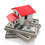 House on money. In the design of access to information relating to the sale or purchase of Real Estate Stock Photos