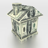 House from money Royalty Free Stock Images