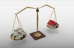House Money Scale stock illustration