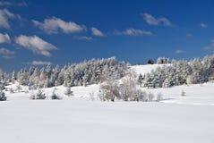 House on montain - Winter Mountain Day Stock Photos
