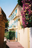 house in Monte-Carlo Stock Photography