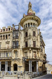 The house of the Moreno brothers, Ribadeo Stock Photo