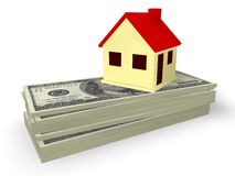 House Mortgage. Concept in 3D Royalty Free Stock Photo