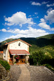 House in a mountain Royalty Free Stock Photography