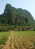 House, mountain, Quang Binh, Viet Nam, Vietnam Stock Photography