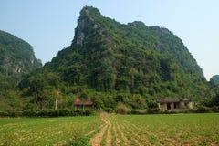 House, mountain, Quang Binh, Viet Nam, Vietnam Stock Images