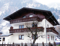 House in mountain village, Austria Stock Photography