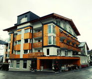House in mountain village, Austria Royalty Free Stock Photography