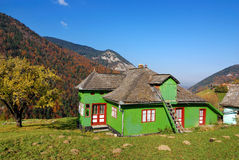 House in mountain village (Romania) Royalty Free Stock Photos