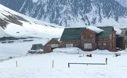 Mountain Hut In Gulmarg. Royalty Free Stock Photo