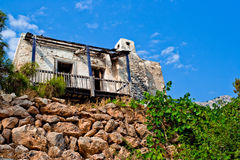 House in the mountains Royalty Free Stock Images