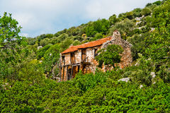 House in the mountains Stock Images