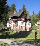 House at mountains Royalty Free Stock Photos