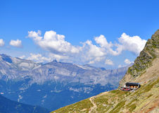 House in mountains Stock Photo