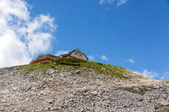 House in the mountains Royalty Free Stock Image