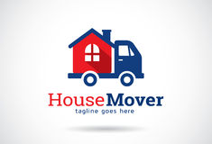 House Mover Logo Template Design Vector, Emblem, Design Concept, Creative Symbol, Icon. This design suitable for logo, symbol, emblem or icon Royalty Free Stock Images