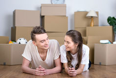 House Moving Stock Images